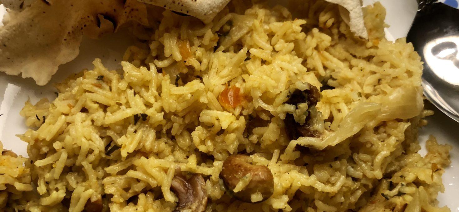Tomato Coriander Spiced Rice