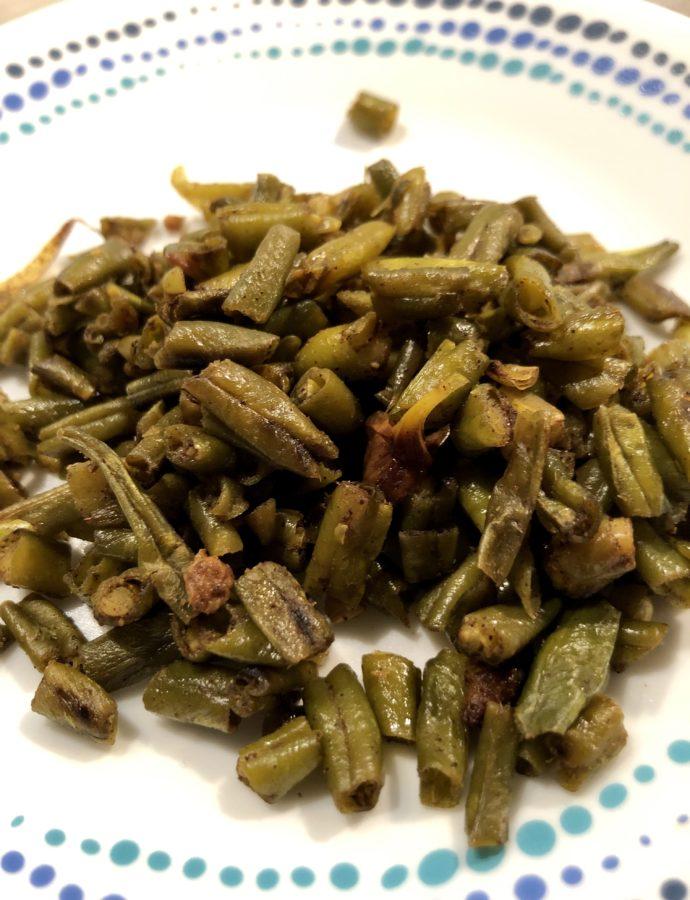 Talasani Konkani styled beans