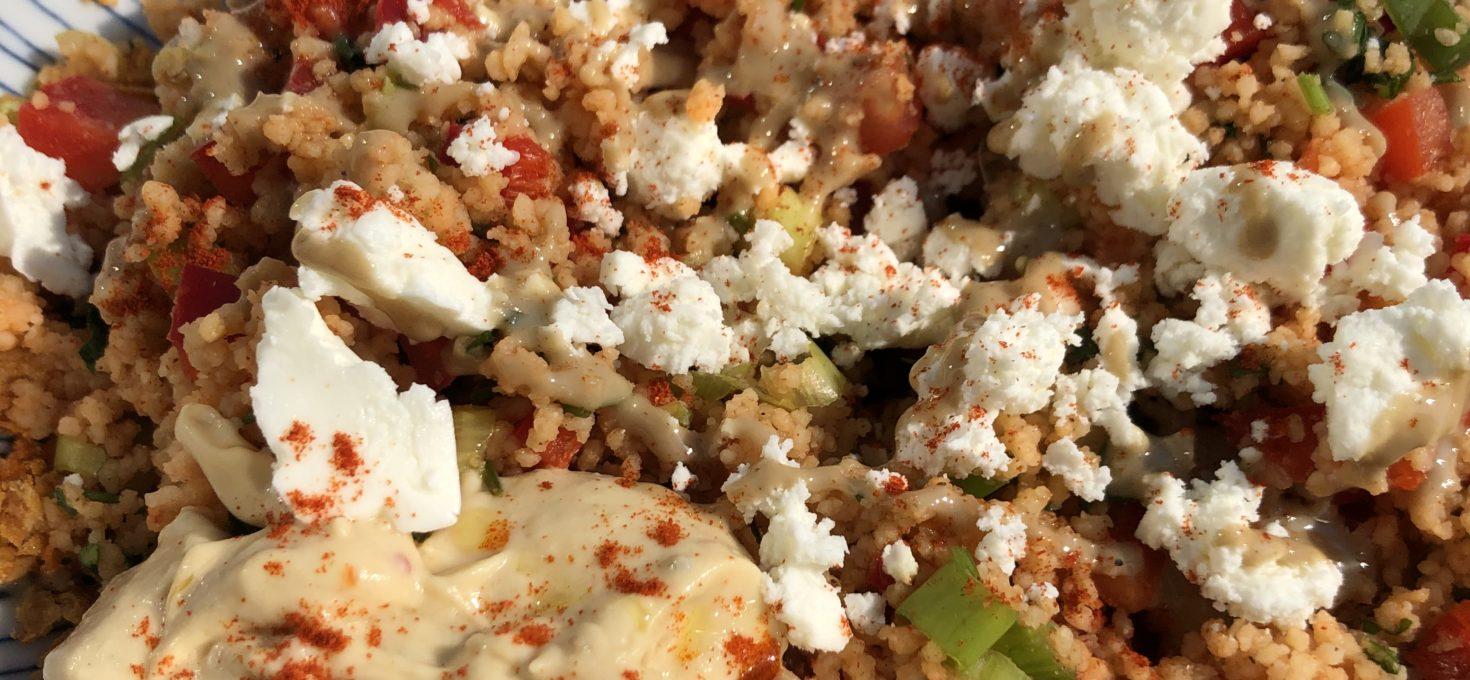 Colourful Couscous Salad Bowl
