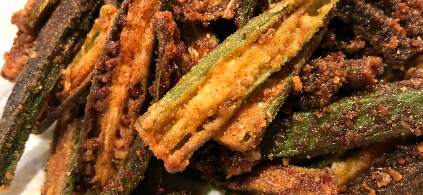 Dishoom Okra Fries | Kurkuri Bhindi
