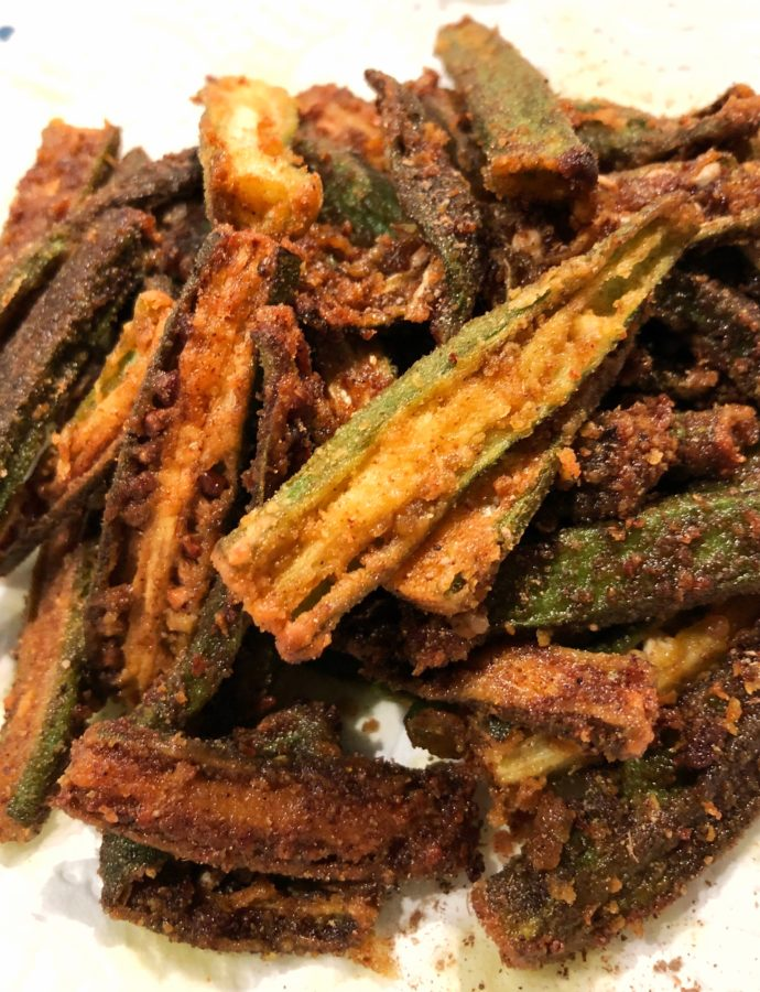Dishoom Okra Fries | Kurkuri Bhindi