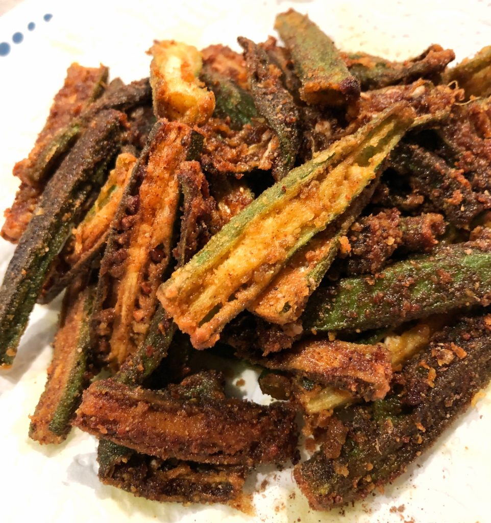 Dishoom's super delicious Okra fries, made at home