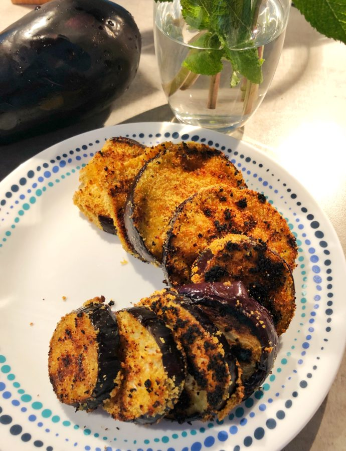 Aubergine Katsu Cutlets |My Take on Begun Bhaja