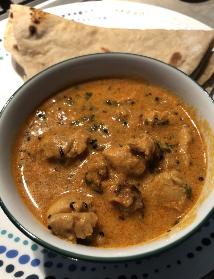 Achari Chicken – Curry with pickling spices